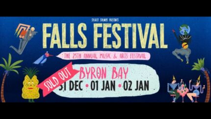 SELLING Falls festival tickets + camping