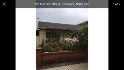 Three bedroom house + granny flat for rent in Liverpool