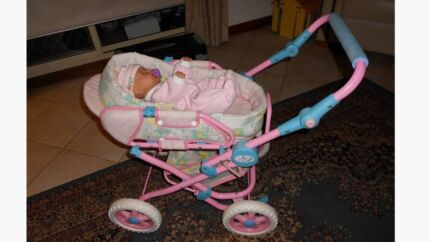 Baby Born dolls pram zaph creations