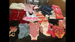Assorted girls clothing 12-24 months