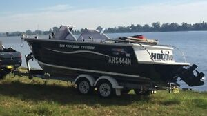 Quintrex 580 freedom cruiser 2006 Sawtell Coffs Harbour City Preview