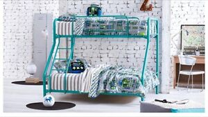 White - Double at bottom single at top bunk bed Palmyra Melville Area Preview