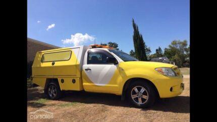 Toyota hilux service vehicle