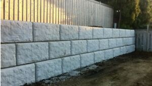 Retaining Wall Installation / Wall Services