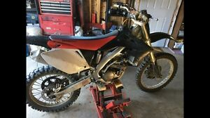Looking to trade 2004 CRF 250R for Quad
