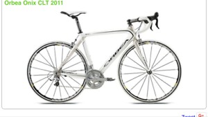 Road bike; full carbon orbea onix 60cm XL $800