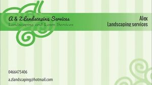 A&Z Landscaping services Seven Hills Blacktown Area Preview