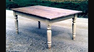 Antique Wooden Table Legs