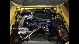 509 rwhp supercharged set up for fox mustang