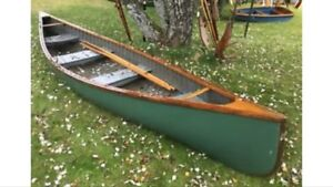 Wanted an old canoe
