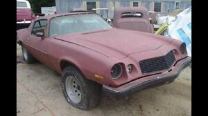 1970-1981 CAMARO WANTED