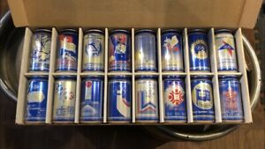 Labatt's Blue Olympic Winter Games Collector Cans
