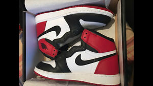 Jordan 1 Black Toe (GS) 5Y