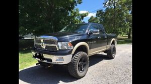 Lifted 37s Dodge Ram 1500 (winter tires and plow)