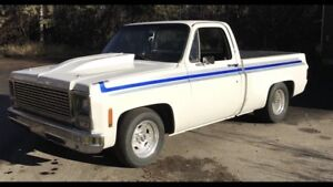 1978 Chevrolet C10 Shortbox BBC 500hp , Trades Welcome !