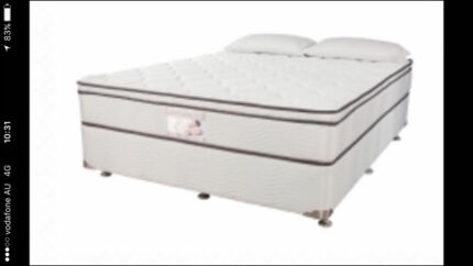 Queen and double beds brand new 10 year warrenty