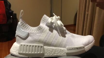 Adidas triple white NMD R1 Japan PK