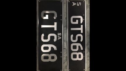 Number plate GTS 68 (open to all offers) HK monaro Greenacres Port Adelaide Area Preview