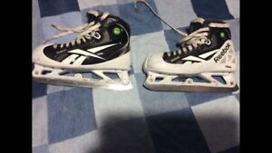 Hockey goalie skates