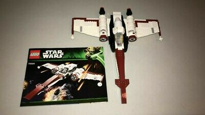 LEGO Star Wars : Z-95 Headhunter 75004 Without Minifigures With Manual