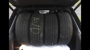 Low profile pneu/tires 19 inch/pouce 235/50R/19