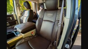 Longhorn seat belts and drivers side seat bottom