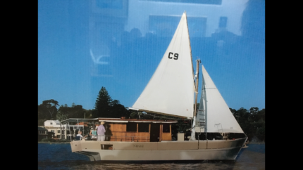 MAKE ME AN OFFER Converted Wooden Fishing Boat 'NIKKI'