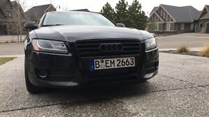 Audi A5 blacked out
