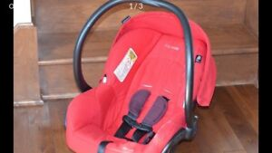 Coquille Maxi-Cosi + 2 bases d'auto