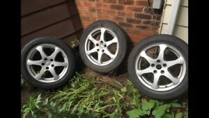 3 Toyo Observe Garit KX Wheels 150 OBO NEED GONE ASAP