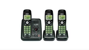 Vtech 3 handset Cordless phones answering system Econd