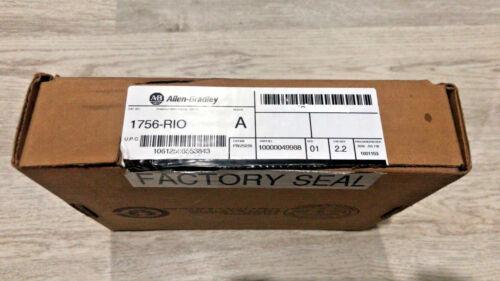 New Allen Bradley 1756-RIO Series A ControlLogix Remote I/O Communication FW 2.2