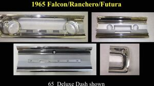 Wanted, 1965 ford falcon deluxe dash