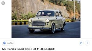 Wanted: Fiat 1100-103 h model