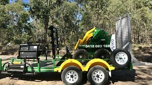 Mini digger/ loader for hire Wavell Heights Brisbane North East Preview