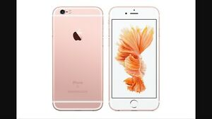 iPhone 6 64GB Rose Gold - ROGERS (new battery/ screen)
