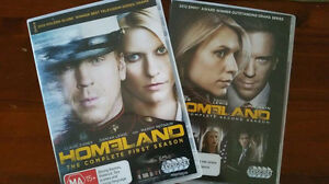 Homeland DVD S 1 & 2 Berrimah Darwin City Preview