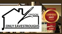 New Installation & Repair Services~Eavestrough Cleaning from $75