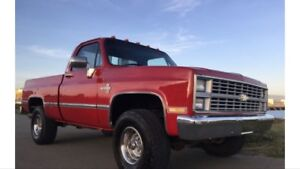 Looking for a square body!