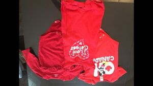 Canada day clothing 18-24 mths
