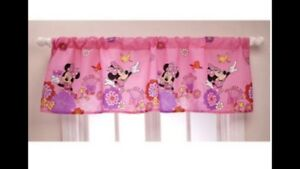 Minnie Mouse Window Valance