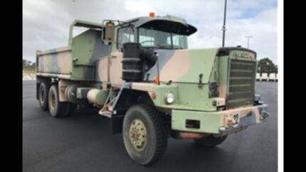 Mack R6x6 ex army dump truck