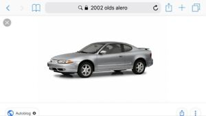 Looking for olds alero