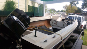 Cheap boat with 150 mercury Sale Wellington Area Preview