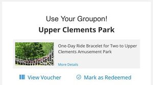 Upper Clements Park 2 for 1 $18