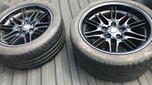 BMW M5 Rims and tires