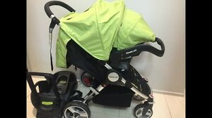 Steelcraft AGILE Travel System Stroller & Capsule with base Ashmore Gold Coast City Preview