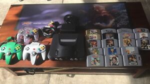 Nintendo 64 with 18 games Kings Park Blacktown Area Preview