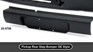 1998-2001 s10 extended cab/stepside rear bumper/roll pan