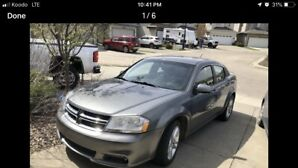2012 Dodge Avenger SXT only 70,000kms